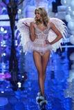 LONDON, ENGLAND - DECEMBER 02: Victoria's Secret model Stella Maxwell walks the runway Royalty Free Stock Photo