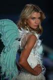 LONDON, ENGLAND - DECEMBER 02: Victoria's Secret model Stella Maxwell walks the runway Royalty Free Stock Photography