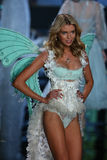 LONDON, ENGLAND - DECEMBER 02: Victoria's Secret model Stella Maxwell walks the runway Stock Images