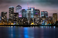 London. England Docklands Canary Wharf Royalty Free Stock Image