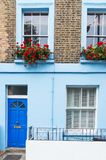 London, England, Europe - typical British house in Camden town. District Royalty Free Stock Images