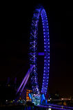 London England Eye on the Thames Stock Photography