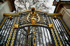 In london england the  gate  royal palace Stock Images