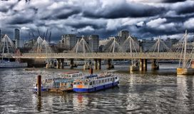 London, England, Hdr, Boats, Ships Stock Photos