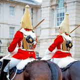 In london england hor se and cavalry for    the queen Royalty Free Stock Photo