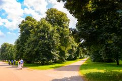 Regent's Park, one of the Royal Parks of London. Stock Photo