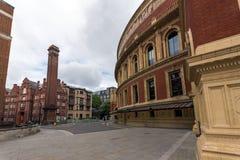 London, England - June 18 2016: Amazing view of Royal Albert Hall, London Stock Photography