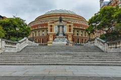 Amazing view of Royal Albert Hall, London, Great Britain. LONDON, ENGLAND - JUNE 18 2016: Amazing view of Royal Albert Hall, London, Great Britain Stock Photo