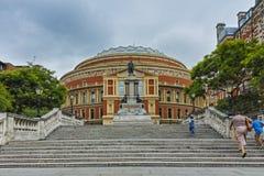 Amazing view of Royal Albert Hall, London, Great Britain. LONDON, ENGLAND - JUNE 18 2016: Amazing view of Royal Albert Hall, London, Great Britain Stock Photography