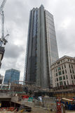 LONDON, ENGLAND - JUNE 18 2016: Building of Bank of England in city of London Stock Photography