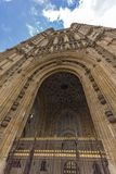 Houses of Parliament at Westminster, London, England, Great Britain. LONDON, ENGLAND - JUNE 15 2016: Houses of Parliament at Westminster, London, England, Great Stock Image