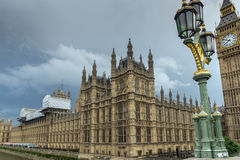 LONDON, ENGLAND - JUNE 16 2016: Houses of Parliament, Westminster Palace, London, England Stock Image