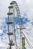 The London Eye on the South Bank of the River Thames in London, England, Great Britain Royalty Free Stock Photo