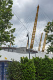 LONDON, ENGLAND - JUNE 17 2016:  The O2 Arena at Greenwich, London, Great Britain. LONDON, ENGLAND - JUNE 17 2016:  The O2 Arena at Greenwich, London, England Stock Photography