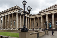 LONDON, ENGLAND - JUNE 16 2016: Outside view of British Museum, City of London, England Stock Image