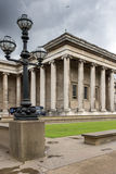 LONDON, ENGLAND - JUNE 16 2016: Outside view of British Museum, City of London, England Royalty Free Stock Photo