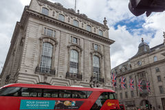 LONDON, ENGLAND - JUNE 16 2016: Piccadilly Circus,  London, England, Great Britain Stock Photos