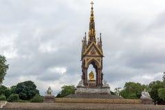 London, England - June 18 2016: Prince Albert Memorial, London Stock Photo