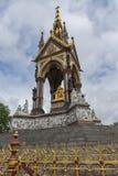 London, England - June 18 2016: Prince Albert Memorial, London Royalty Free Stock Photos