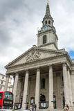 LONDON, ENGLAND - JUNE 16 2016: St Martin in the Fields church,  City of London, England Royalty Free Stock Image