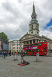 LONDON, ENGLAND - JUNE 16 2016: St Martin-in-the-Fields church,  London, England, Great Britain Stock Image