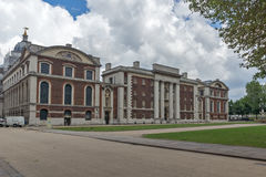 LONDON, ENGLAND - JUNE 17 2016: University of Greenwich, London, United Kingdom. LONDON, ENGLAND - JUNE 17 2016: University of Greenwich, London, England, United Stock Image