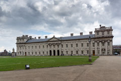 LONDON, ENGLAND - JUNE 17 2016: University of Greenwich, London, United Kingdom. LONDON, ENGLAND - JUNE 17 2016: University of Greenwich, London, England, United Royalty Free Stock Photo