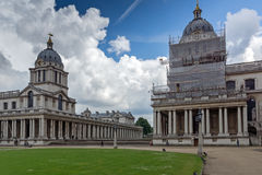 LONDON, ENGLAND - JUNE 17 2016: University of Greenwich, London, United Kingdom. LONDON, ENGLAND - JUNE 17 2016: University of Greenwich, London, England, United Stock Photos