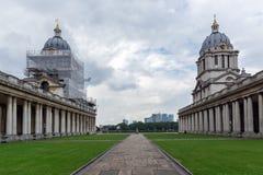 LONDON, ENGLAND - JUNE 17 2016: University of Greenwich, London, United Kingdom. LONDON, ENGLAND - JUNE 17 2016: University of Greenwich, London, England, United Royalty Free Stock Image