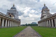 LONDON, ENGLAND - JUNE 17 2016: University of Greenwich, London, United Kingdom. LONDON, ENGLAND - JUNE 17 2016: University of Greenwich, London, England, United Stock Photography