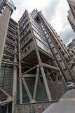 LONDON ENGLAND - JUNI 18 2016: Fantastisk cityscape av affärsbyggnad i stad av London Royaltyfria Foton