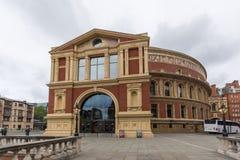 London England - Juni 18 2016: Fantastisk sikt av kungliga Albert Hall, London Fotografering för Bildbyråer