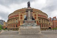 London England - Juni 18 2016: Fantastisk sikt av kungliga Albert Hall, London Royaltyfria Foton