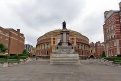 London England - Juni 18 2016: Fantastisk sikt av kungliga Albert Hall, London Arkivfoton