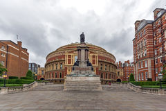 London England - Juni 18 2016: Fantastisk sikt av kungliga Albert Hall, London Arkivbilder