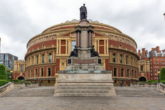 London England - Juni 18 2016: Fantastisk sikt av kungliga Albert Hall, London Royaltyfri Bild