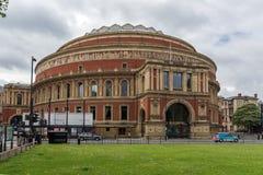 London England - Juni 18 2016: Fantastisk sikt av kungliga Albert Hall, London Arkivfoto
