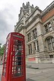 LONDON ENGLAND - JUNI 18 2016: Morgonsikt av Victoria och Albert Museum, London Arkivbild