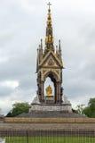 London England - Juni 18 2016: Prins Albert Memorial, London Royaltyfri Bild