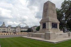 LONDON, ENGLAND - 17. JUNI 2016: Schutz-Abteilungs-Denkmal in St- James` s Park, London, Großbritannien Lizenzfreies Stockbild