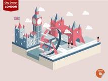 London England London city design stock illustration