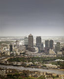 London, England - May 11th, 2015 Canary Wharf Royalty Free Stock Image