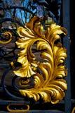 In london england  metal gate  royal palace Royalty Free Stock Image