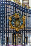 Detail of the Royal Palace gate, London Royalty Free Stock Images