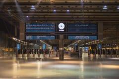 LONDON, ENGLAND - NOVEMBER 7, 2014 Information display board on Stock Images