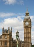 Parliament Building and Big Ben Royalty Free Stock Images