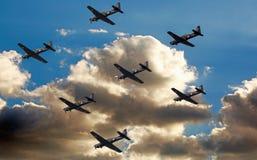 London, England 2018 R.A.F. 100. Jahrestags-Luftparade Stockbilder