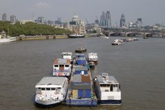 London. England. River Thames and City. Stock Photo