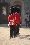 LONDON - ENGLAND SEPTEMBER 09 2015 : Windsor castle - Grenadier Royalty Free Stock Photo