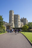 LONDON - ENGLAND SEPTEMBER 09 2015 : Windsor castle - Visitors e Stock Photo